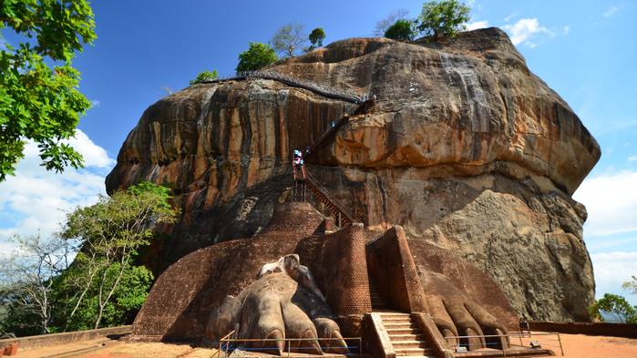Sigiriya - Lejonklippan