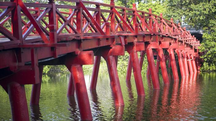 Bron vid Hoan Kiemsjön