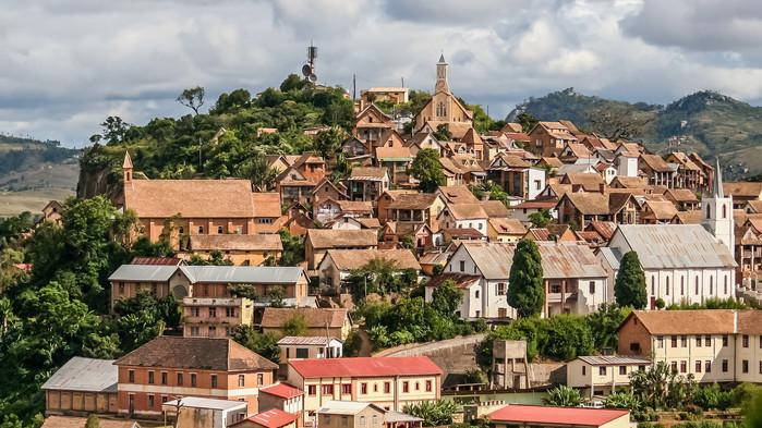 Fianarantsoa, vars namn betyder Staden där man lär sig något bra.